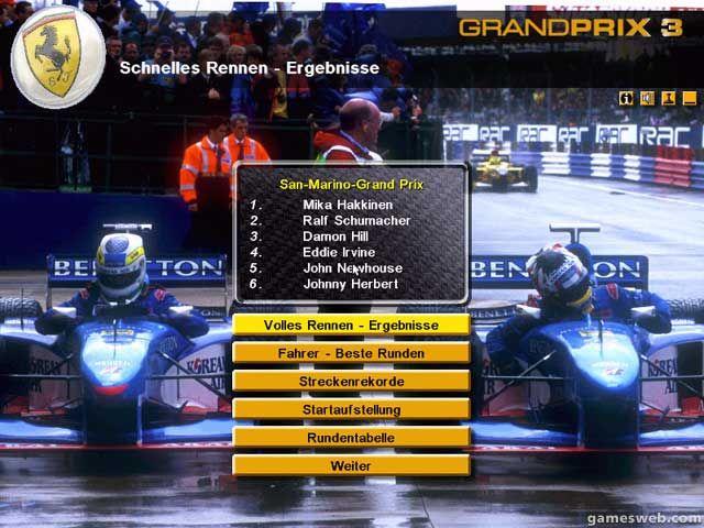 Grand Prix 3 - Screenshots - Bild 2