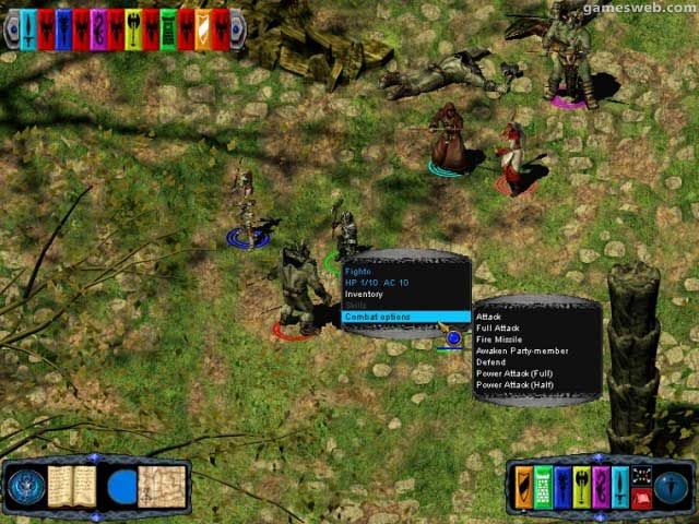 Pool of Radiance: Ruins of Myth Drannor  Archiv - Screenshots - Bild 5
