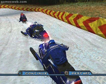 Sno Cross Championship Racing   Archiv - Screenshots - Bild 3