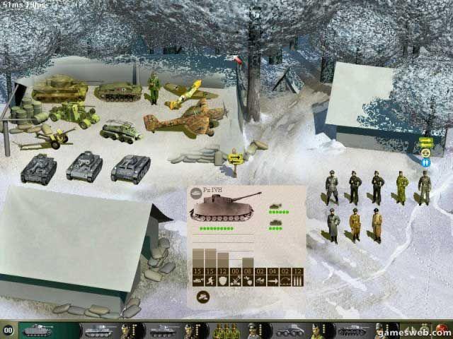 Panzer General III: Scorched Earth  Archiv - Screenshots - Bild 11