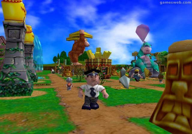 Theme Park Rollercoaster  Archiv - Screenshots - Bild 6