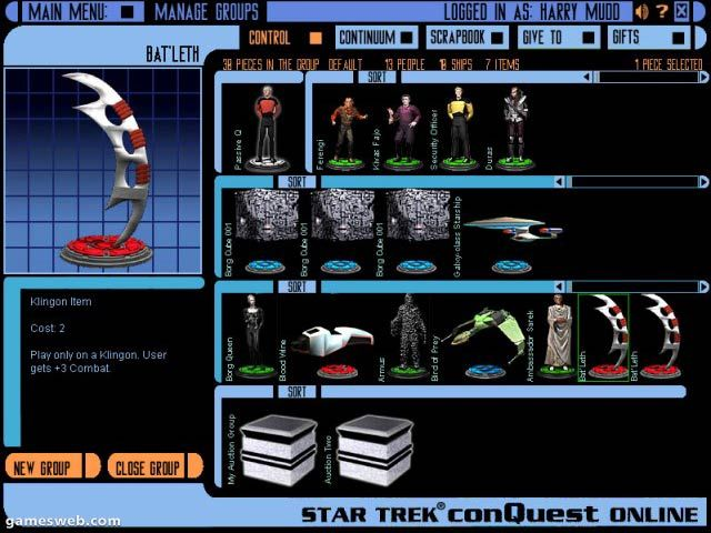 Star Trek Conquest Online Screenshots Archiv - Screenshots - Bild 4