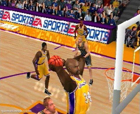 NBA Live 2001  Archiv - Screenshots - Bild 4