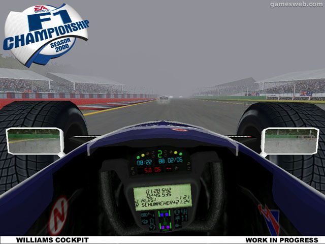 F1 Championship - Season 2000 Screenshots Archiv - Screenshots - Bild 19