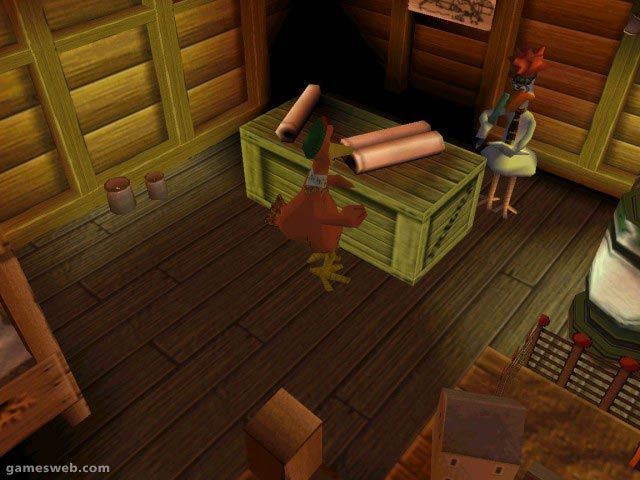 Chicken Run Screenshots Archiv - Screenshots - Bild 4