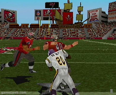 Madden NFL 2001  Archiv - Screenshots - Bild 2
