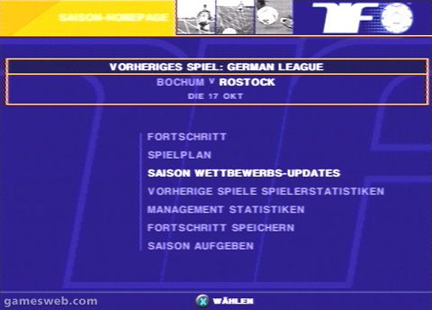 Fussball Live 2 - Screenshots - Bild 14