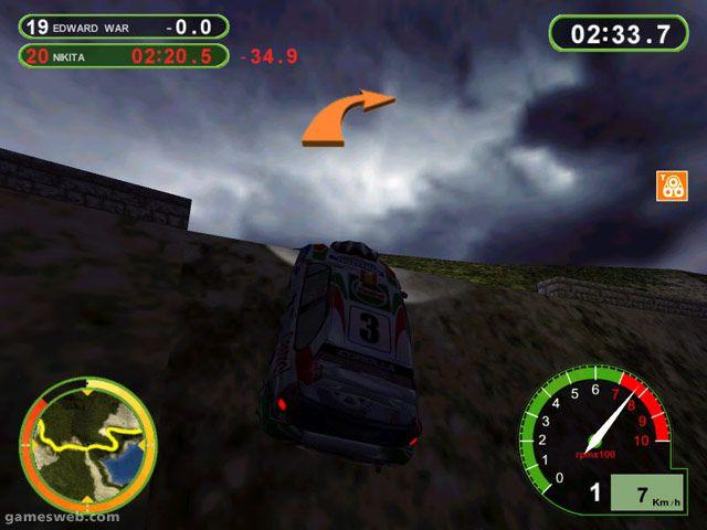 Pro Rally 2001 - Screenshots - Bild 2