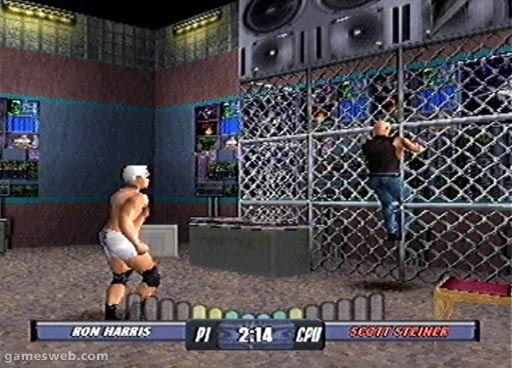 WCW Backstage Assault - Screenshots - Bild 11