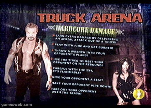 WCW Backstage Assault - Screenshots - Bild 10