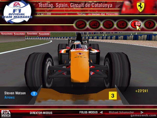 F1 Official Team Manager - Screenshots - Bild 2