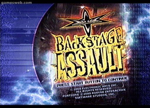 WCW Backstage Assault - Screenshots - Bild 5