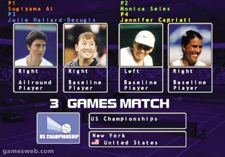 WTA Tour Tennis  Archiv - Screenshots - Bild 7