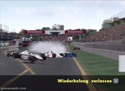 F1 Championship Season 2000 - Screenshots - Bild 2