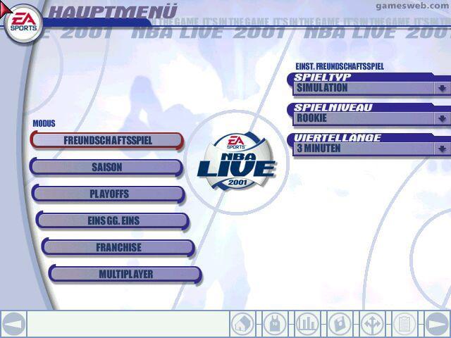 NBA Live 2001 - Screenshots - Bild 5