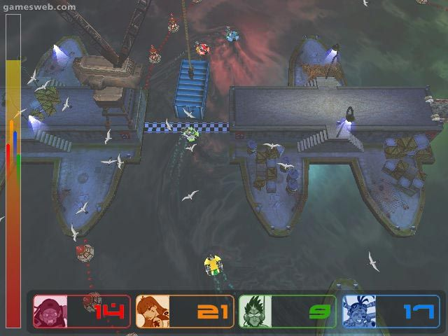 Fuzion Frenzy  Archiv - Screenshots - Bild 2