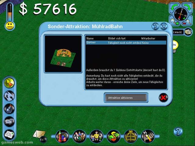 Theme Park Manager - Screenshots - Bild 9