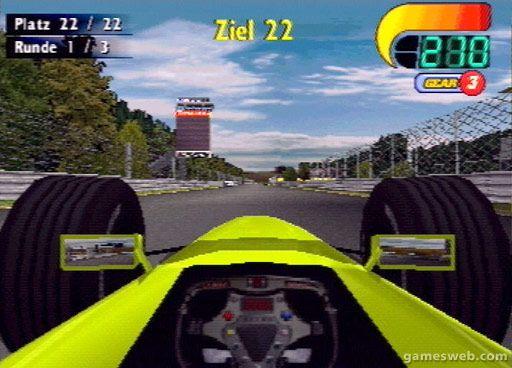 F1 World Grand Prix 2000 - Screenshots - Bild 8