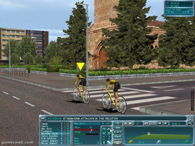 EuroTour Cycling  Archiv - Screenshots - Bild 6