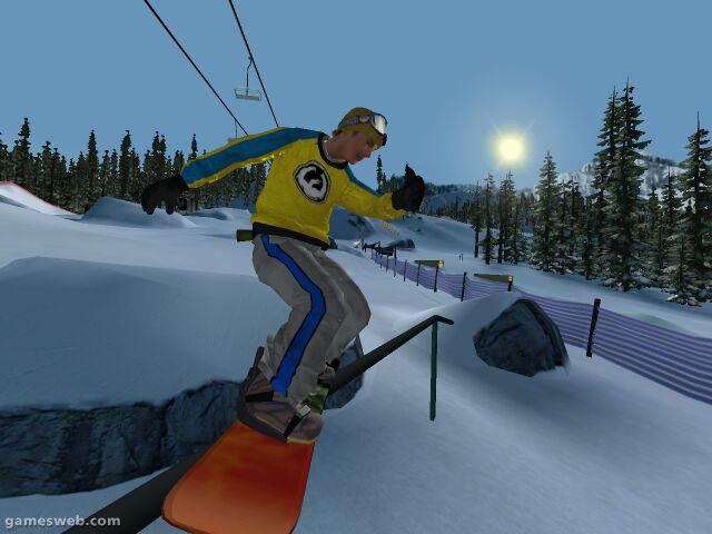 Amped: Freestyle Snowboarding  Archiv - Screenshots - Bild 2