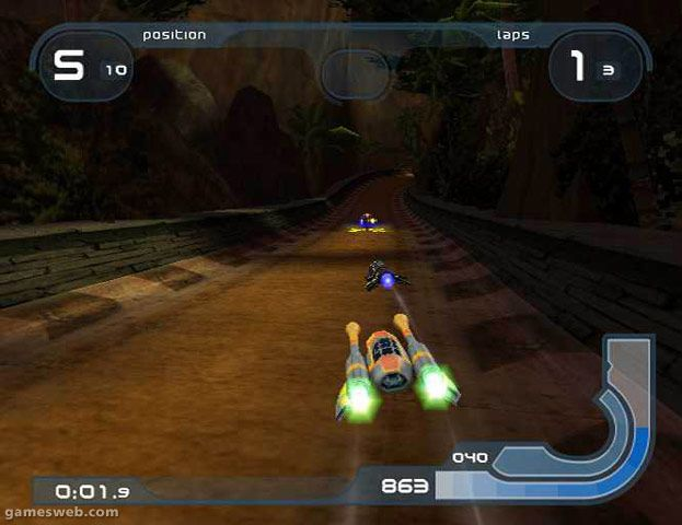 Wipeout Fusion  Archiv - Screenshots - Bild 2