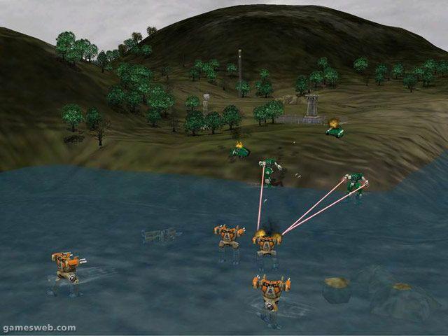 Mech Commander 2  Archiv - Screenshots - Bild 5