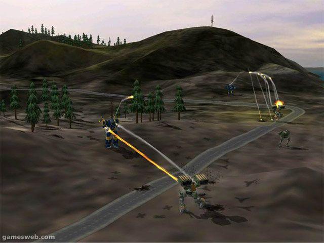 Mech Commander 2  Archiv - Screenshots - Bild 8