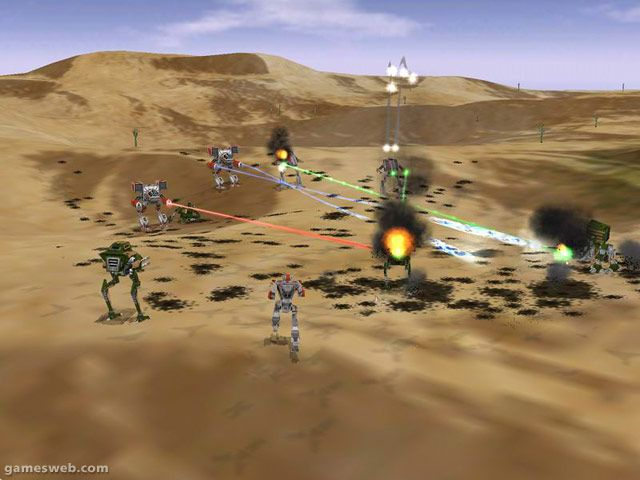 Mech Commander 2  Archiv - Screenshots - Bild 3