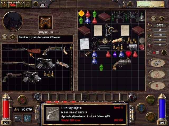 Arcanum - Screenshots - Bild 2