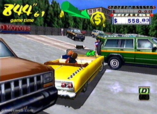 Crazy Taxi - Screenshots - Bild 14