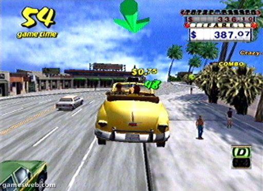 Crazy Taxi - Screenshots - Bild 5