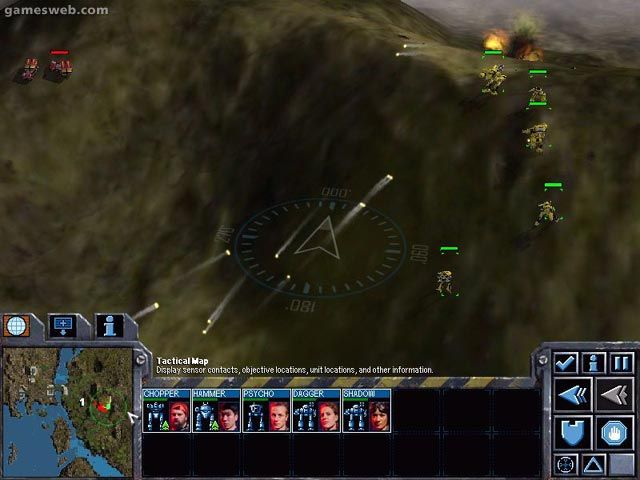 Mech Commander 2 - Screenshots - Bild 7