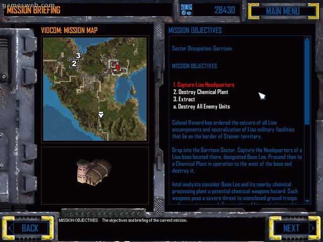 Mech Commander 2 - Screenshots - Bild 4