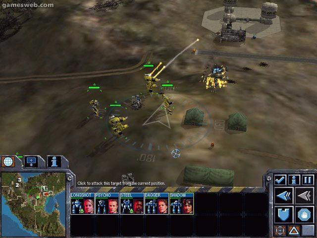 Mech Commander 2 - Screenshots - Bild 8