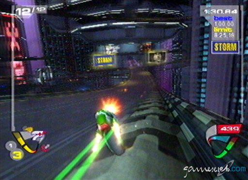 XG3: Extreme-G Racing - Screenshots - Bild 10
