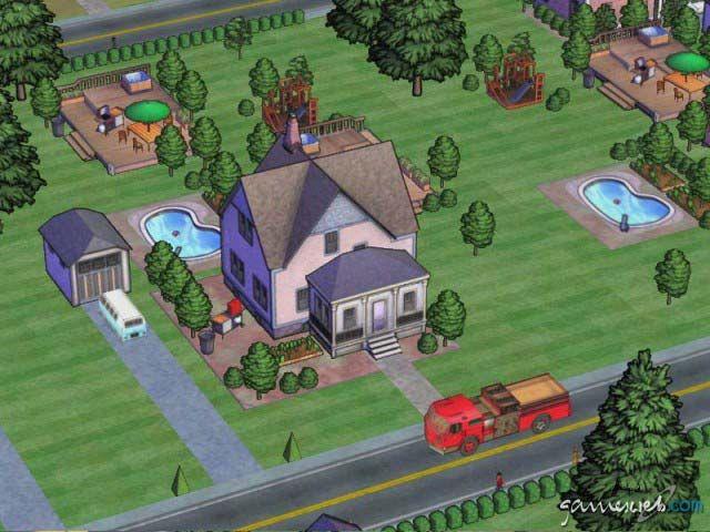 SimsVille  Archiv - Screenshots - Bild 2
