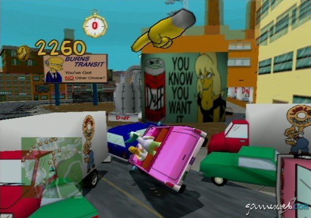 Simpsons Road Rage  Archiv - Screenshots - Bild 30
