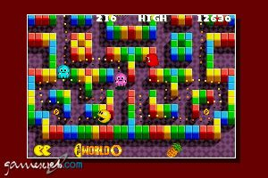 Pac-Man Collection (GBA)  Archiv - Screenshots - Bild 2