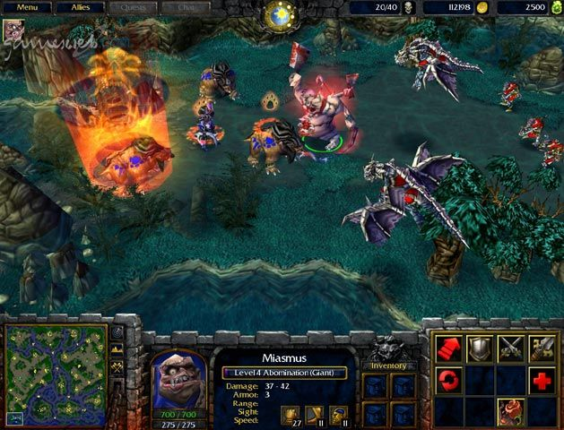 Warcraft 3 - Screenshots & Artworks Archiv - Screenshots - Bild 2
