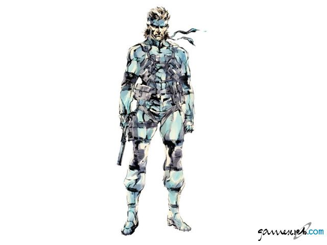 Metal Gear Solid 2  Archiv - Artworks - Bild 7