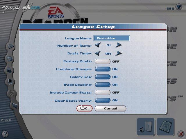 Madden NFL 2002 - Screenshots - Bild 8