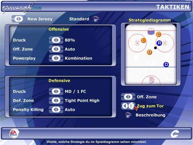NHL 2002 - Screenshots - Bild 2