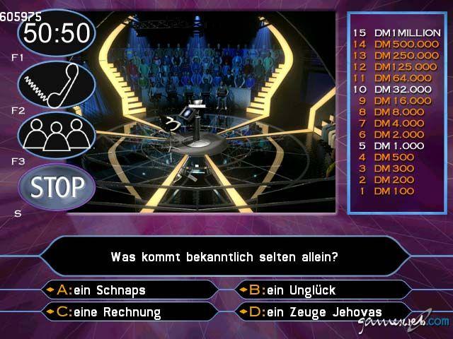 Wer Wird Millionär 2. Edition  Archiv - Screenshots - Bild 31