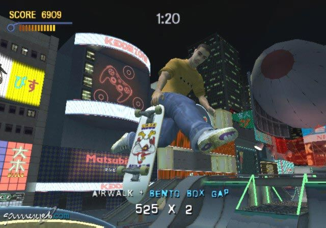 Tony Hawk's Pro Skater 3  Archiv - Screenshots - Bild 2