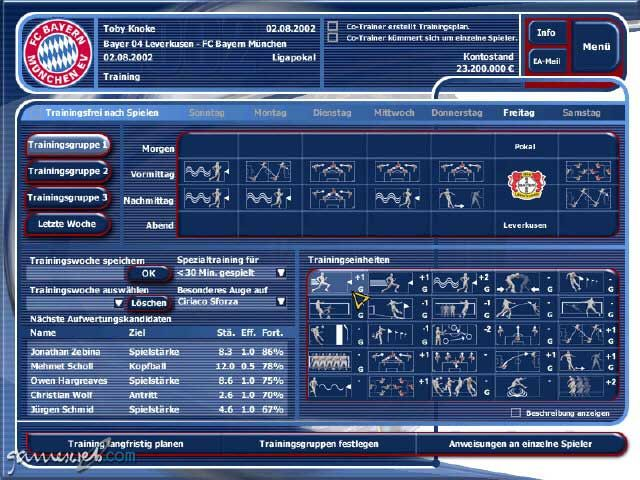 Fussball Manager 2002 - Screenshots - Bild 6