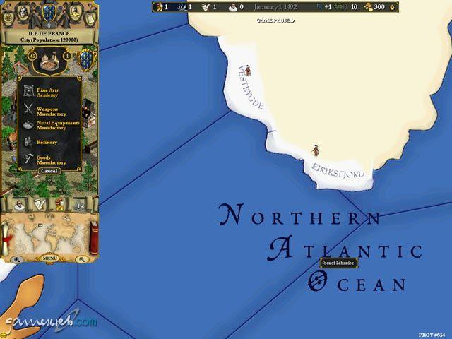 Europa Universalis 2  Archiv - Screenshots - Bild 5
