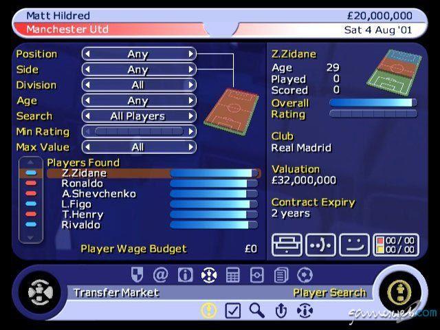 BDFL Manager 2002  Archiv - Screenshots - Bild 31