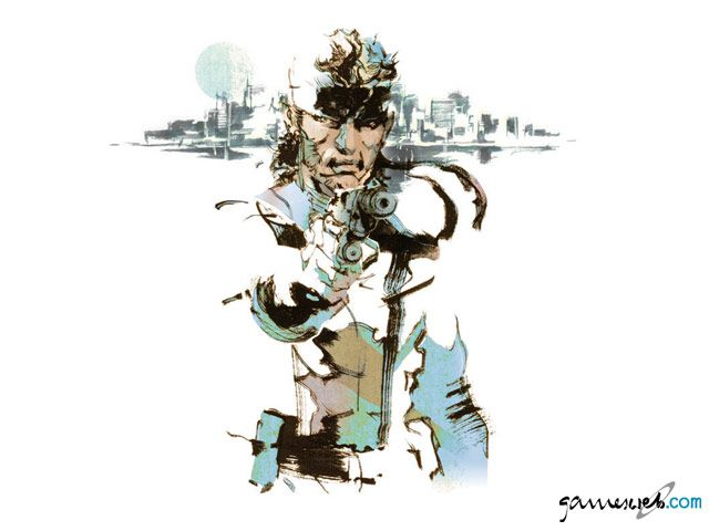 Metal Gear Solid 2  Archiv - Artworks - Bild 9