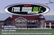 ESPN Final Round Golf 2002  Archiv - Screenshots - Bild 2
