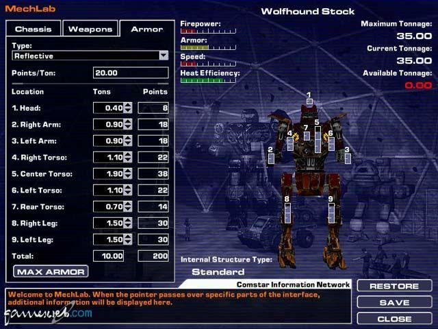 MechWarrior 4: Black Knight  Archiv - Screenshots - Bild 21